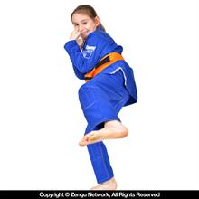 Do or Die Kids Hyperlyte Blue Jiu Jitsu Gi
